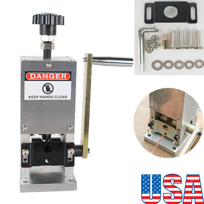 Usa Ship Wire Stripping Machine Copper Cable Peeling Stripper Wdrill Connector