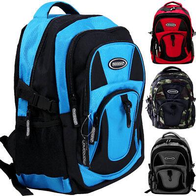 Schule Laptop Rucksack (monzana® Rucksack Schulrucksack 15