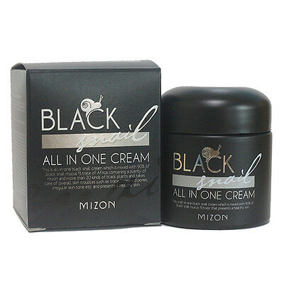 Mizon Black Snail All In One Cream 75ml Free gifts