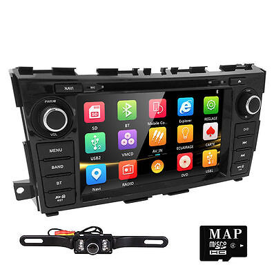 "For Nissan Teana Altima 2013 2014 8"" Dash Radio Car DVD Player GPS Navi +Camera"