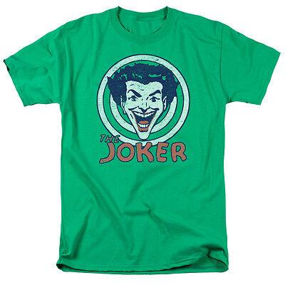 THE JOKER Joke Target Vintage Comics Officially Licensed Adult T-Shirt SM-5XL - Adult Joke Comics