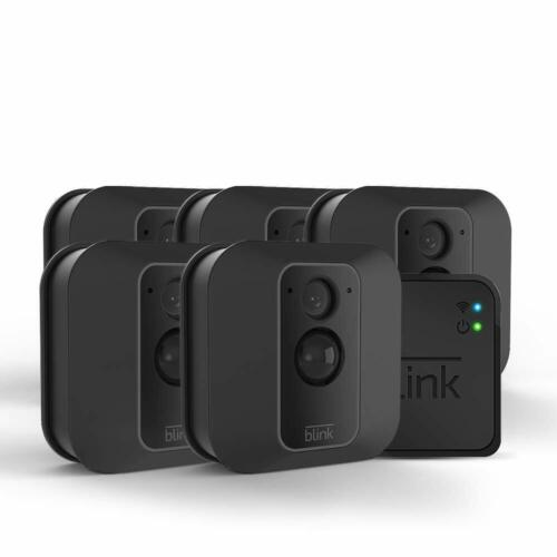 SEALED Blink XT2 5-Camera Indoor/Outdoor Wi-Fi Surveillance System - Black