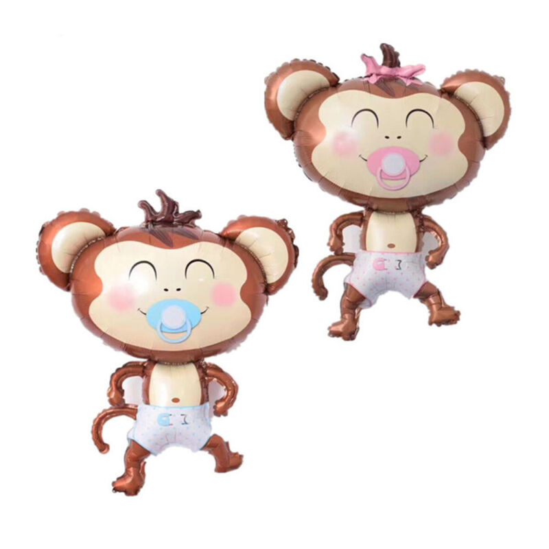 Hot Monkey Baby Helium Air Foil Balloon Baby Shower Birthday Party