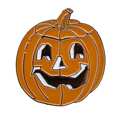 Halloween Kürbis Spukgesicht Metall Button Badge Pin Anstecker 0769 (Halloween Kuerbis)