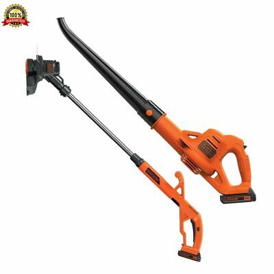 Best Battery Powered Weed Wacker Leaf Blower Combo String Trimmer Cordless