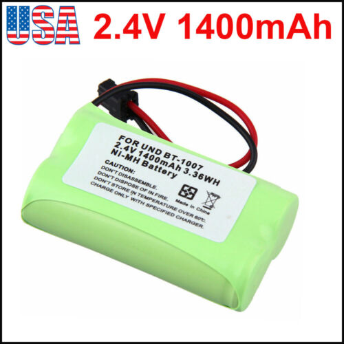 2.4V 1400mAh Phone BT-1007 Replacement Battery For Uniden DECT6.0 BBTY0624001