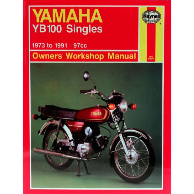 Yamaha YB100 97cc Singles 1973-1991 Haynes Workshop Manual