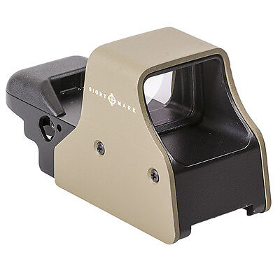 Sightmark Ultra Shot Plus Red Dot Reflex Rifle Scope Sight Fde  Sm26008de