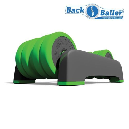 BackBaller: Dual-Mounted Foam Roller for focused muscle relief