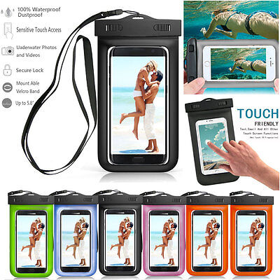 Strip Protection Waterproof Dry Bag Underwater Touch Case Cover for Cell Phones