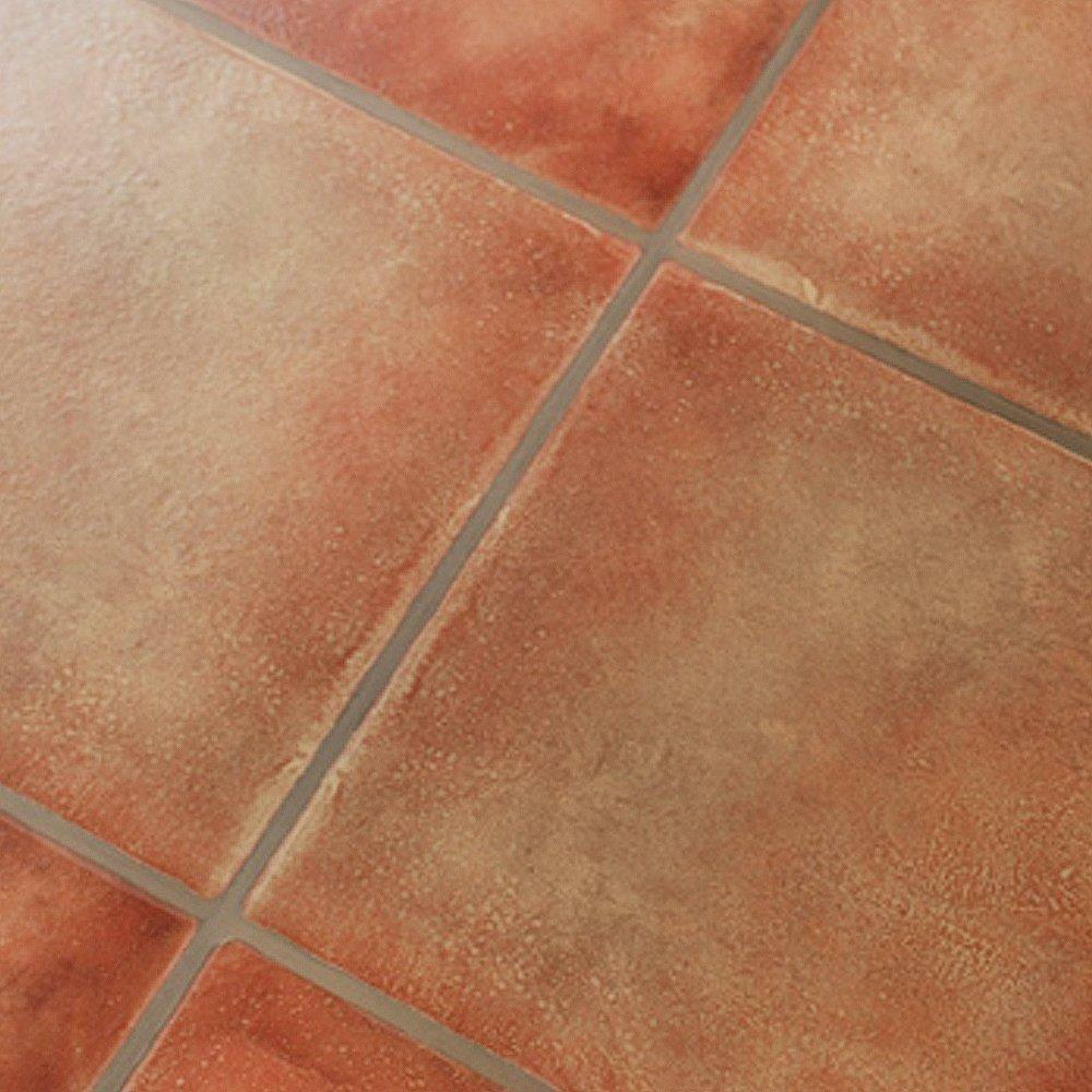 Self adhesive vinyl floor tiles ebay for Laminate tile squares