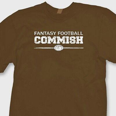 Fantasy Football Commish Funny T Shirt Football Nfl Tee Shirt