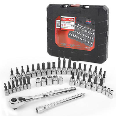 Craftsman 42 piece 1/4 and 3/8-inch Drive Bit & Torx Bit Socket Wrench Set 99941