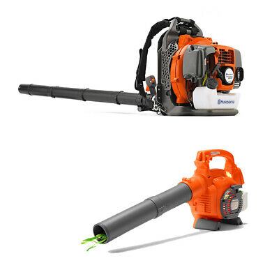 Husqvarna 350BT 50cc 2 Cycle Gas Backpack Blower and Kids To