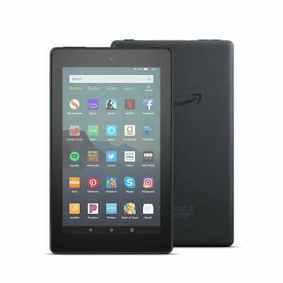 """Amazon Kindle Fire 7 Tablet 16GB 9th Generation 2019 Release With Alexa 7"""" BLACK"""