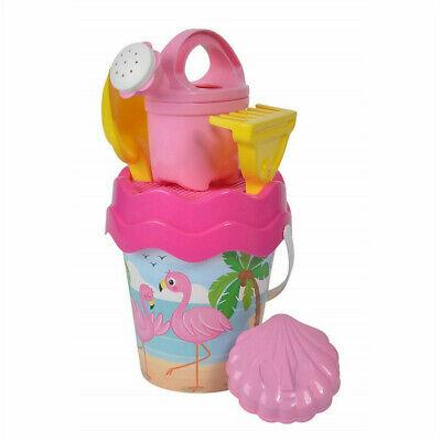 Baby Eimergarnitur Flamingo Simba Androni Sandspielzeug Eimer Schaufel Sieb