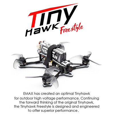 EMAX Tinyhawk Freestyle 115mm Racing Drone Brushless Motor Charity Fr Beginner K3G2