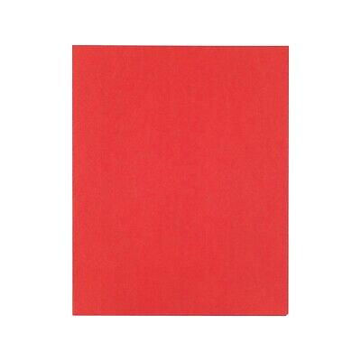 Staples School Grade 2 Pocket Folder With Fasteners Red 25box 578547