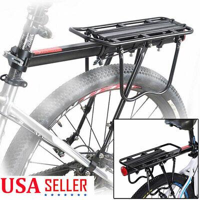Bicycle Mountain Bike Rear Rack Cargo Seat Post Mount Pannier Luggage Carrier