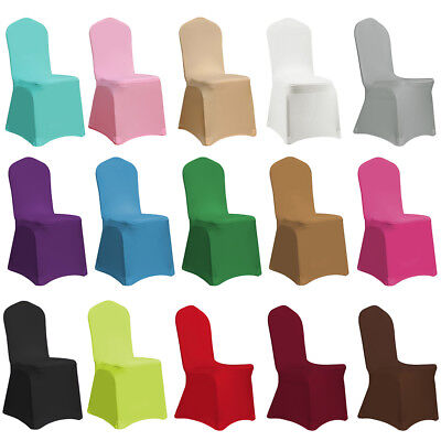 Spandex Stretch Chair Covers Seat Cover for Wedding Party Banquet Hotel - Chair Covers For Wedding