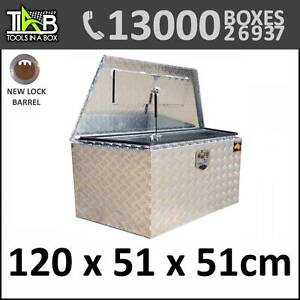 Aluminium Drawbar Trailer Camper Caravan Ute Toolbox Box 1255D Melbourne CBD Melbourne City Preview