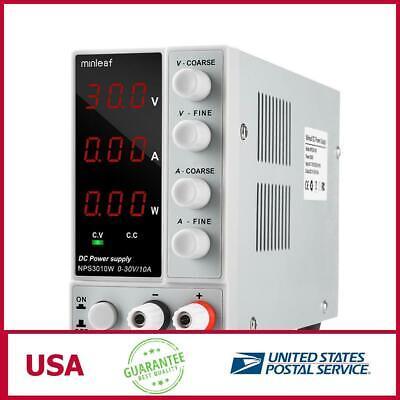 Minleaf Nps3010w 110v220v Digital Adjustable Dc Power Supply 0-30v 0-10a 300w