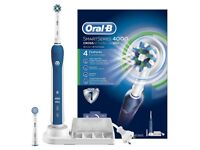**BRAND NEW** ORAL-B SMART SERIES 4000 BLUETOOOTH WIRELESS BRAUN ELECTRIC TOOTHBRUSH.