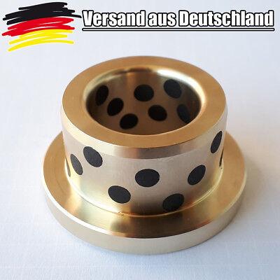 SANKYO Gleitlager Wartungsfrei mit Bund / Flunsh 12er Welle Graphitdepots L0237