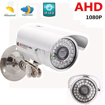 CCTV 1080P AHD Camera 2MP HD Analog Home IR Night Vision Outdoor Security System