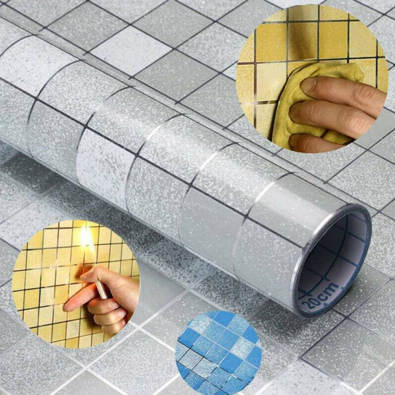 Mosaics Contact Paper Adhesive Peel Tile Sticker