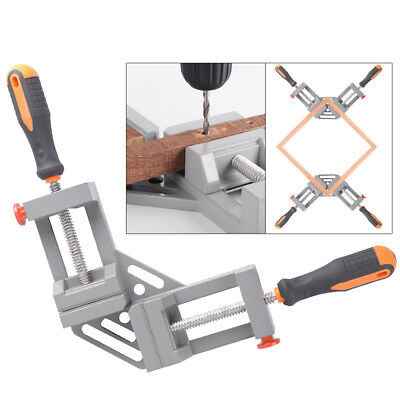 Right Angle Clamp 90degree Frame Corner Holder Double Handle Wood Metal Welding