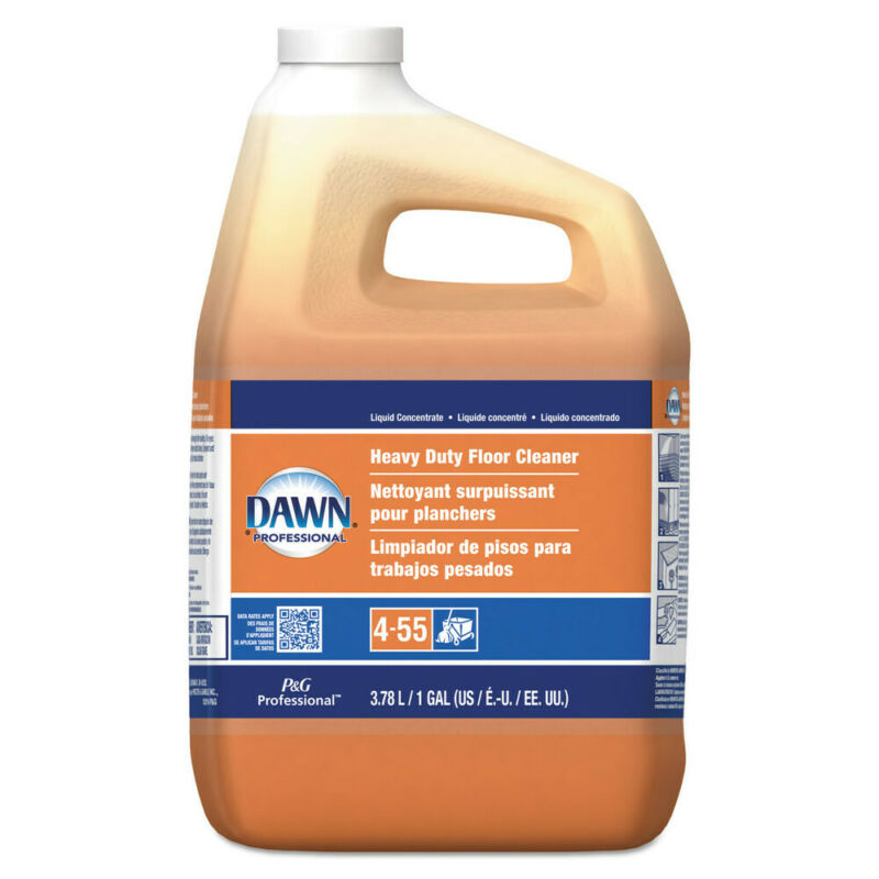 P&G Professional Heavy-Duty Floor Cleaner, Neutral Scent, 1gal Bottle, 3/carton
