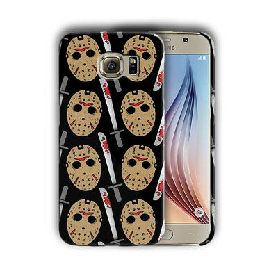 Halloween Jason Mask Samsung Galaxy S4 5 6 7 8 9 10 E Edge Note 3 Plus Case 29 (Halloween 9 Mask)