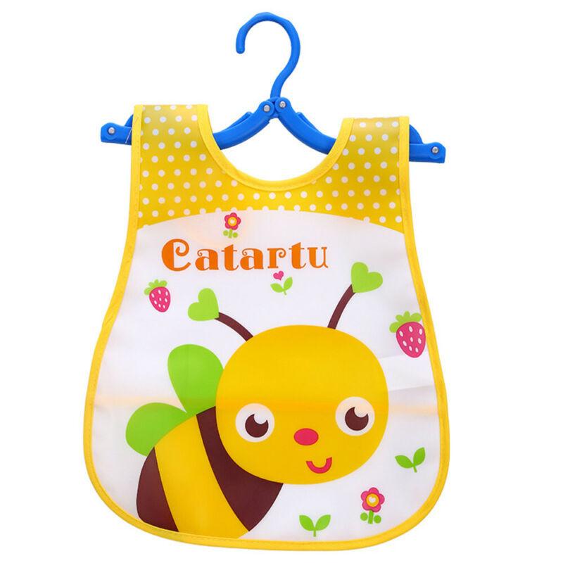 Newborn Cute Kids Bibs Baby Soft Cartoon Bib Toddler Waterproof Saliva Dripping O