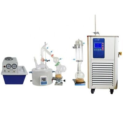 5l Vacuum Short Path Distillation System With Chiller-10 - 99cvacuum Pump
