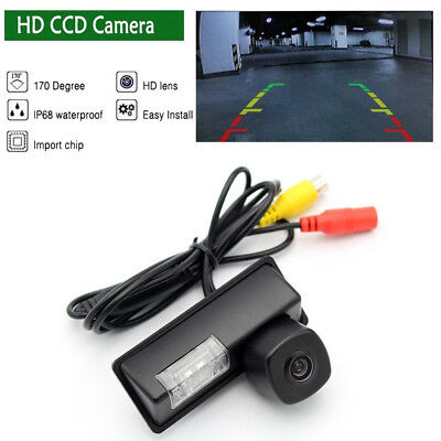 HD CCD Auto Reversing Backup Rear View Tracks Parking Camera For Nissan Sylphy
