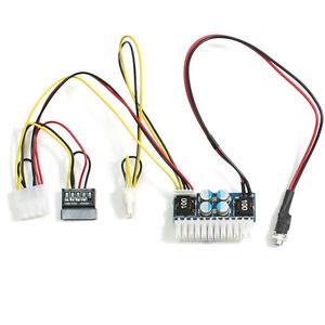 Car DC to DC ATX Mini ITX PC Power Supply module 12V 160W for automative Auto