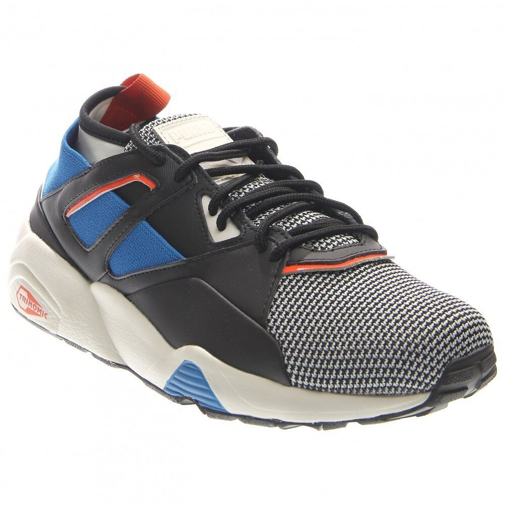 Puma Blaze of Glory Sock Tech  Casual Running Stability Shoes Grey - Mens - Size