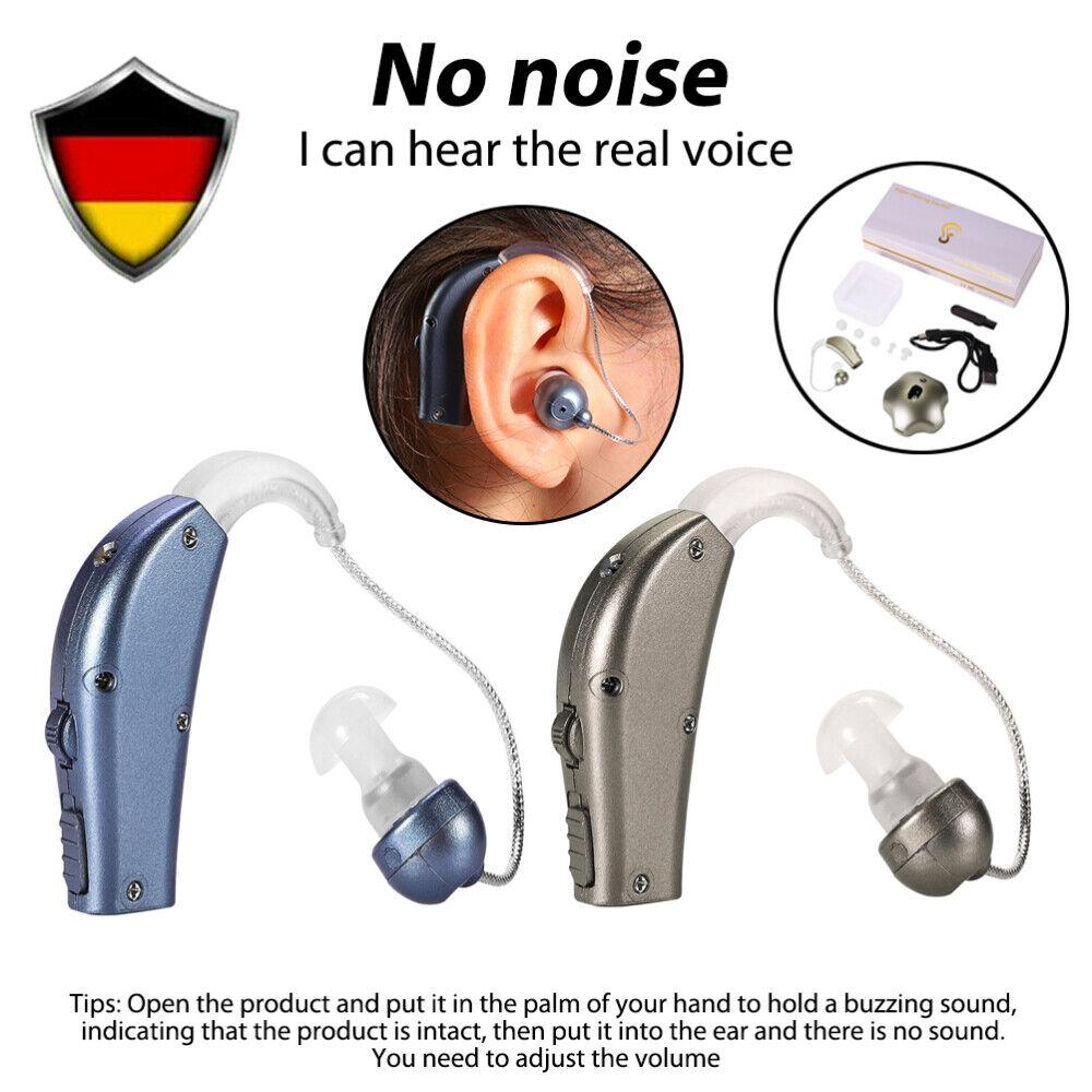 DE Digital Hörgerät Hörhilfe Hörverstärker Hörgeräte Gerät Taub Verstärker USB