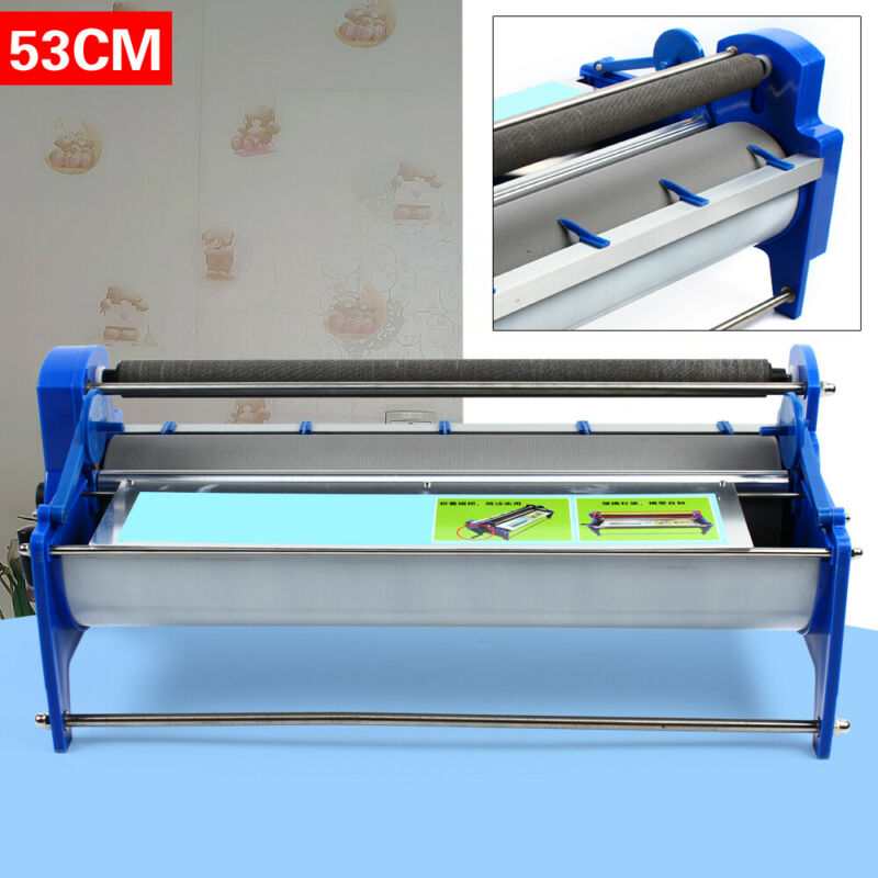 High Performance Selfadhesive Wallpaper Roller Gluing Machine Coating Paste NEW