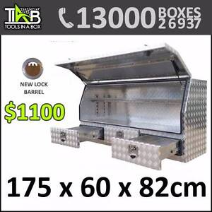 CODE 1768A - ALUMINIUM 3 DRAW SIDE OPENING TOOL BOX Hornsby Hornsby Area Preview