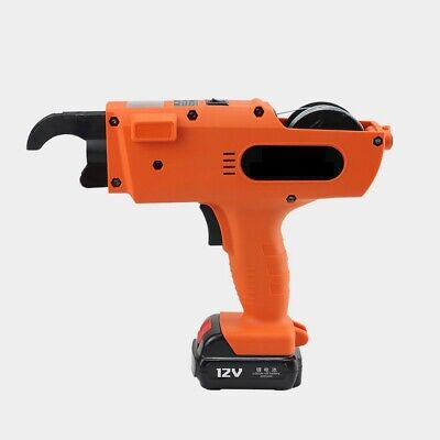 12v Automatic Handheld Rebar Tier Tying Reinforcing Steel Strapping Machine