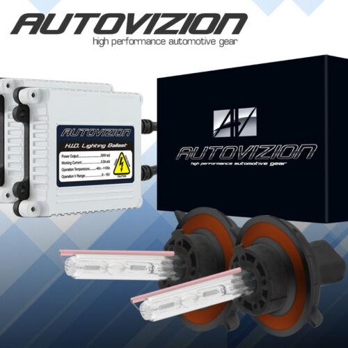 AUTOVIZION HID Conversion Slim Kit H11 9005 All Color Xenon Headlight Light Bulb