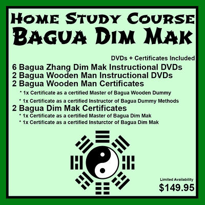 Home Study Course: Bagua Dim Mak (DVDs + Certificates Included)