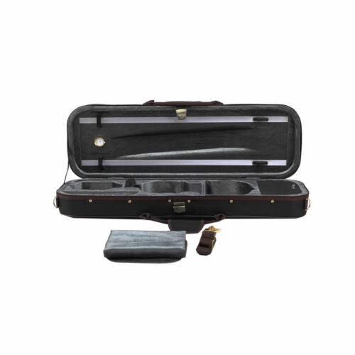 The High Grade Colored Square Oblong Black Oxford Violin Case TL-C006A