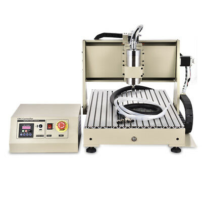 6040 4axis Cnc Router Engraver 1.5kw Vfd Metal Carving Machine Wcontroller Top