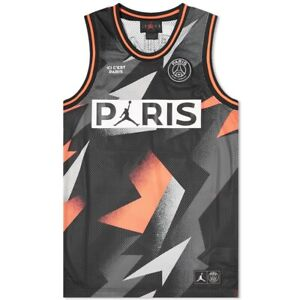 save off 6d870 bd0c2 PSG x Jordan Basketball Jersey 2019 | Tops | Gumtree ...