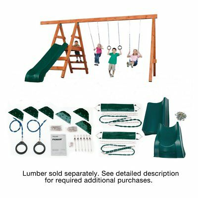Pioneer Deluxe DIY Play Set Hardware Kit with Slide