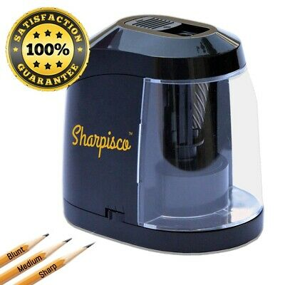 Sharpisco Electric Pencil Sharpener Best Heavy Duty with Auto