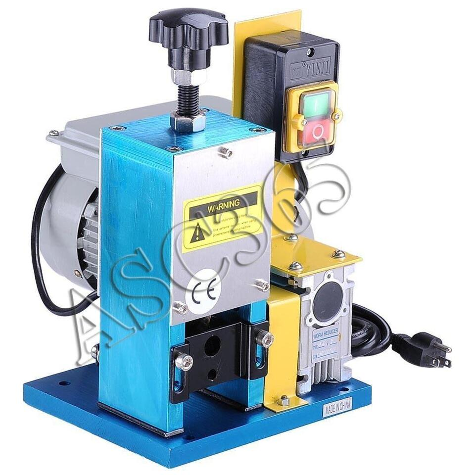 Electric Wire Stripping Machine Metal Tool Cable Stripper 153033 ...